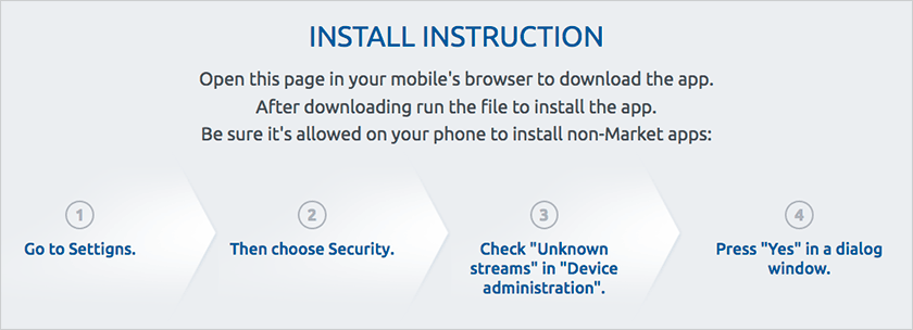 Mostbet app installation instructions