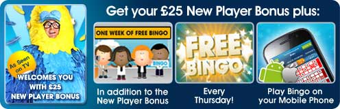 Play Bingo on your Mobile Phone