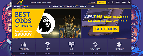 helabet.com kenyan online betting website