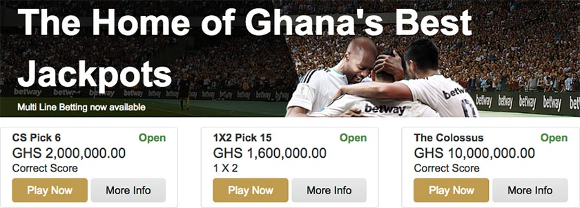 Betway jackpot category – football prediction games