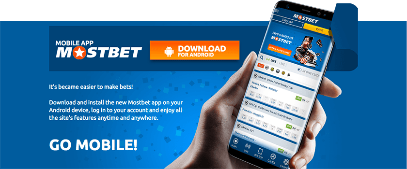 MostBet Mobile App for Android and iOS